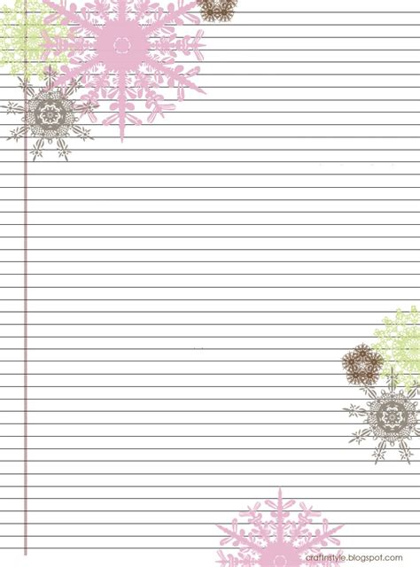 Printable Stationery Pinterest | pretty printable stationery free scrapbooking