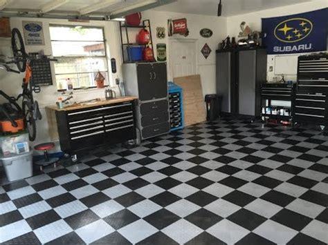 Garage Flooring   Grid Lock Tiles Installation   Doovi