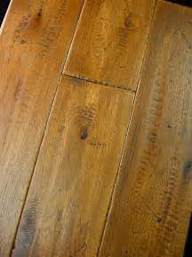 hickory prefinished scraped distressed hardwood