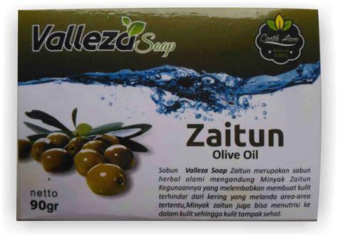sabun zaitun valleza sabun zaitun valezza kulit sehat alami dengan herbal