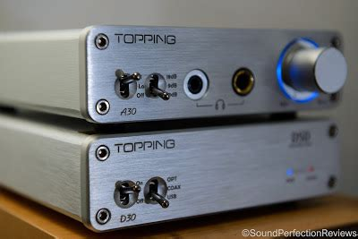 Topping A30 Desktop Headphone Lifier review topping d30 dac and a30 headphone lifier bargain brilliance