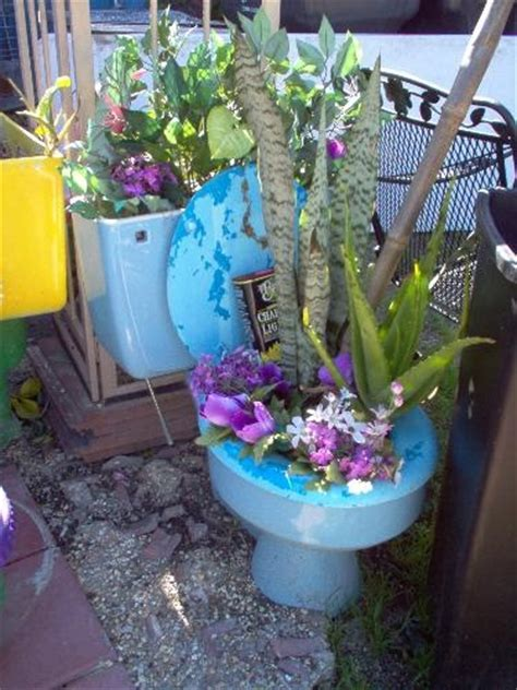 14 best images about toilet planter on