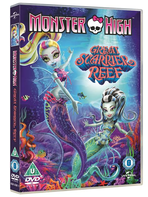 wildly misleadingdvd sleeves 1 win 1 of 3 copies of monster high great scarrier reef on