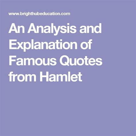 hamlet themes and explanations 14 best wfc hamlet images on pinterest english