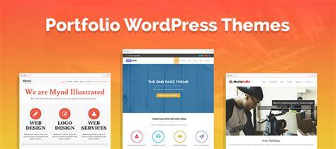 wordpress themes free or paid 5 portfolio wordpress themes 2018 free and paid formget
