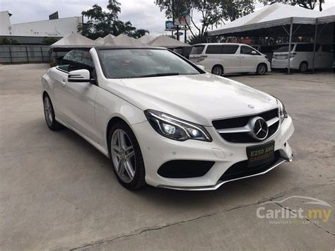 mercedes benz     selangor automatic convertible white  rm