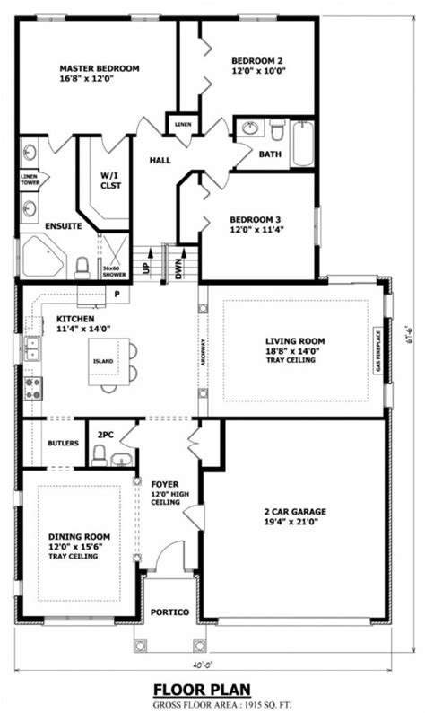 new canadian house floor plans cool home design beautiful