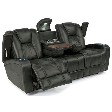 table adjustable headrest flexsteel latitudes power adjustable headrest