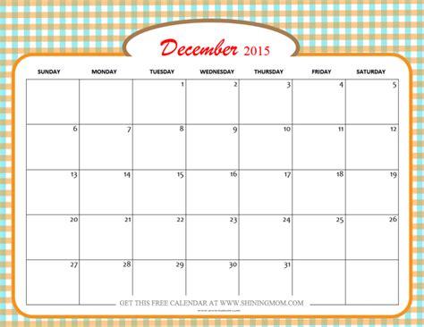 printable free december 2015 calendar december 2015 calendars christmas themed designs