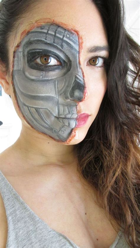 tutorial makeup terminator 25 best ideas about terminator makeup on pinterest