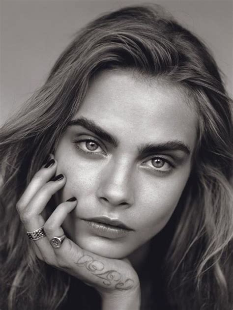 pictures of models with unusual face shapes scoopmodels com cara delevingne
