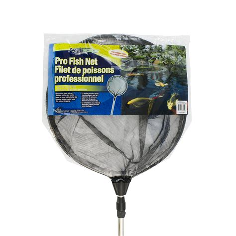 aquascape pro fish net with extendable handle aquascapes