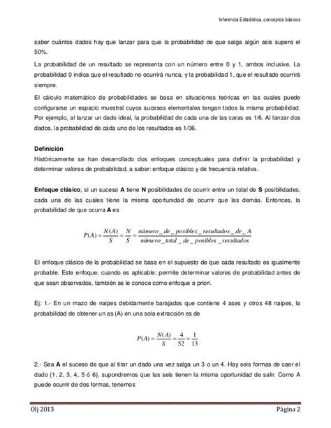 gerolamo cardano probabilidad estadistica inferencia estad 237 stica conceptos b 225 sicos