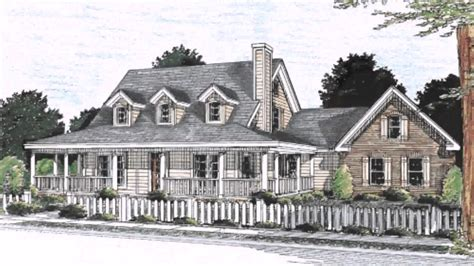 Low Country House Plans With Wrap Around Porch by Low Country Style House Plans Home Style Tidewater Low