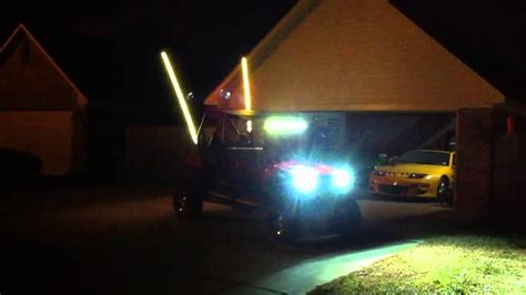 Lighted Whips For Rzr by Led Whip Rzr 4