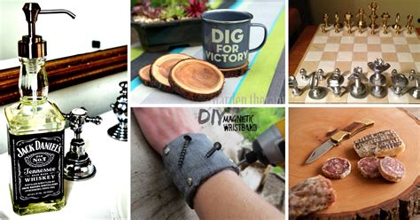 diy projects for men 35 great diy gifts for men who love to be surprised