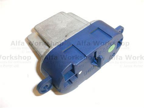 heater resistor alfa 156 heater resistor alfa 156 28 images alfa romeo 156 2 4 jtd otpornik ventilatora grijanja