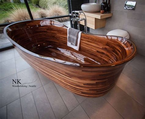 bathtub seattle nk woodworking of seattle washington wooden bathtub