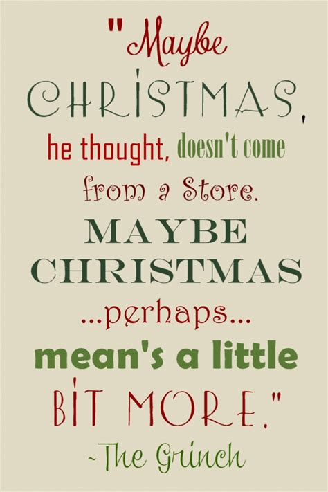 christmas grinch quotes  quotesgram