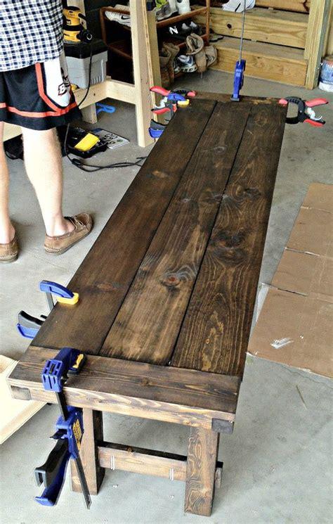 diy farmhouse benches hgtv diy benchright farmhouse bench building a house farmhouse bench pottery and