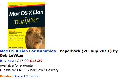 Manuals On Amazon Suggest Late July Launch For Lion
