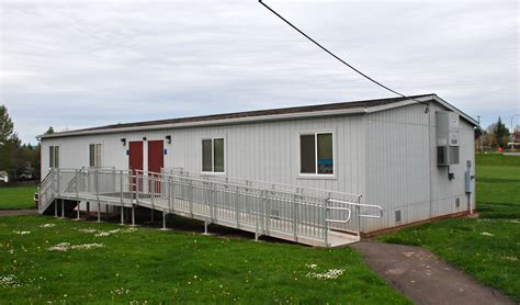 file portable classroom building at rock creek elementary