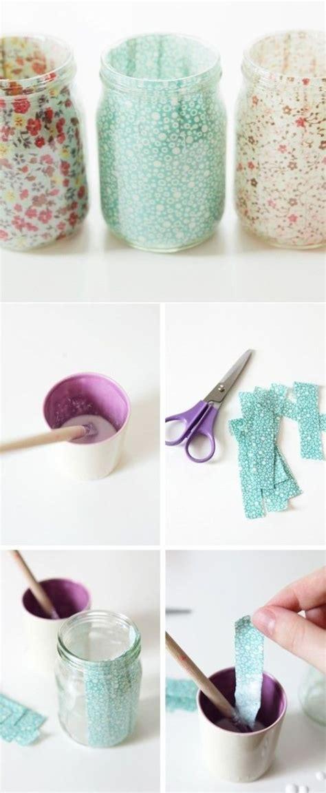 decorar un frasco de vidrio las 25 mejores ideas sobre vidrio reciclado en pinterest y
