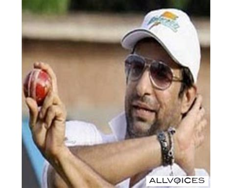wasim akram swing pakistani cricket players wasim akram
