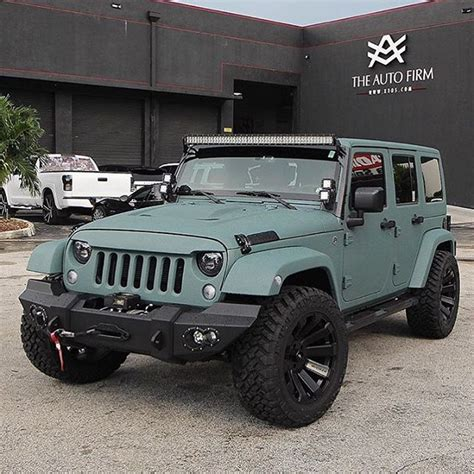jeep rhino liner theautofirm killed it with this wrangler w the custom