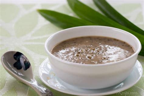 cara buat bubur kacang hijau sedap resepi bubur kacang hijau
