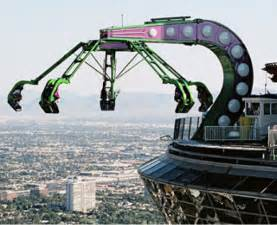 Backyard Coaster Ride The Stratosphere Tower Ride In Las Vegas Bucket