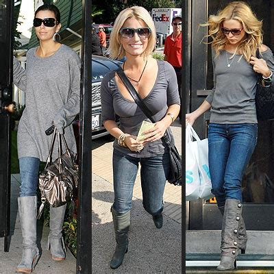 would you wear these trends gray boots