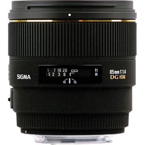 Sigma 85mm F1 4 sigma 85mm f 1 4 ex dg hsm lens for nikon digital slr