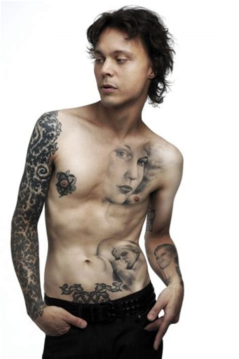 actors with tattoos tattoos best ideas gallery