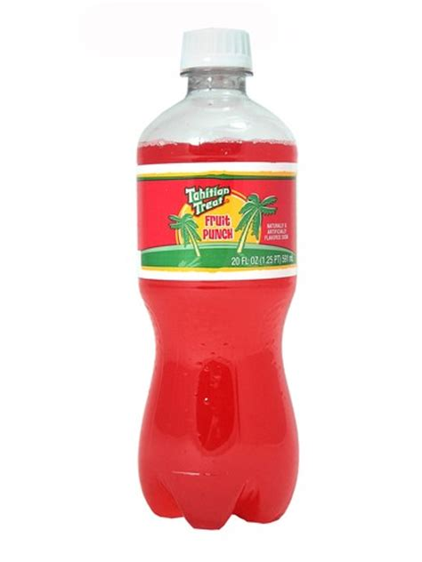 fruit punch soda fresh 20oz tahitian treat fruit punch soda soda emporium