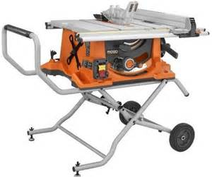 Table Saw Portable by Top 5 Portable Tables Saws Construction Tools