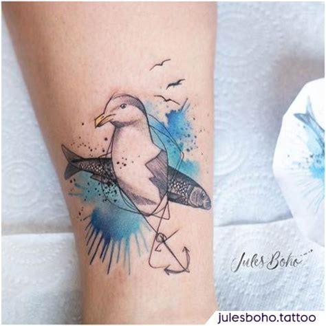 tatuaggio gabbiano tatuaggio gabbiano sketch watercolor seagull