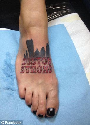 boston street tattoo bostonians show their city pride as they to