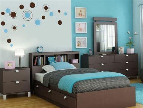 ideen fürs schlafzimmer senfgelb und blau schlafzimmer farbideen