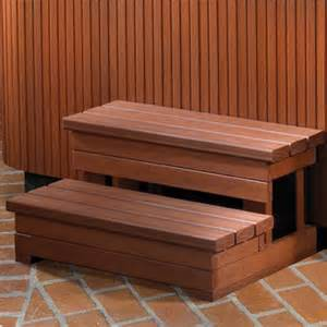 Spa Stairs spring 32 quot everwood spa steps spa steps american sale