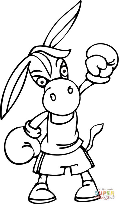 free boxing glove coloring pages sketch coloring page