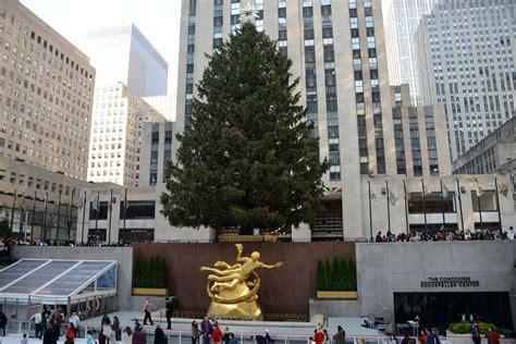 ny city tree new york city rockefeller center 01 tree and