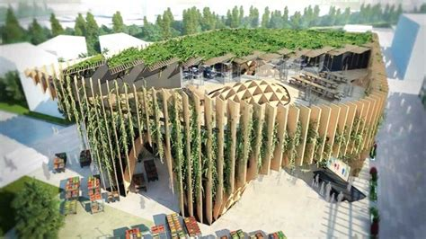 unveiled  french pavilion  milan expo