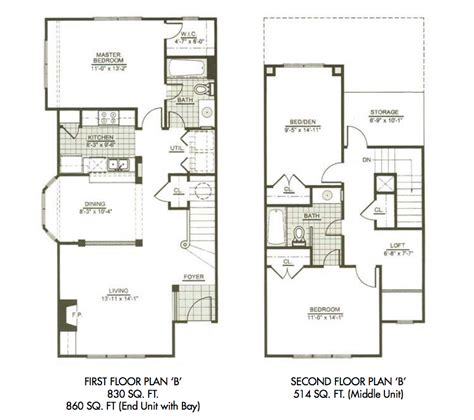 town home plans eastover ridge apartments three bedroom townhome