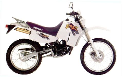 Suzuki Dr 150 Suzuki Models 1991 Page 7