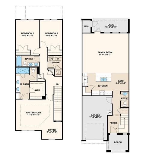 5 Bedroom Townhouse Floor Plans by Townhomes Floor Plans House Plan 2017
