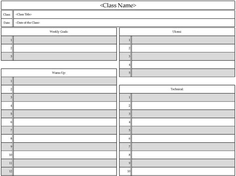 semester plan template searching for judo september 2011