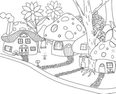 mushroom house coloring pages 203 best embroidery coloring sheets images on pinterest