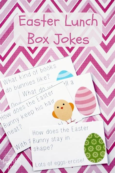 printable easter lunch box jokes blank cards mothers and jokes on pinterest