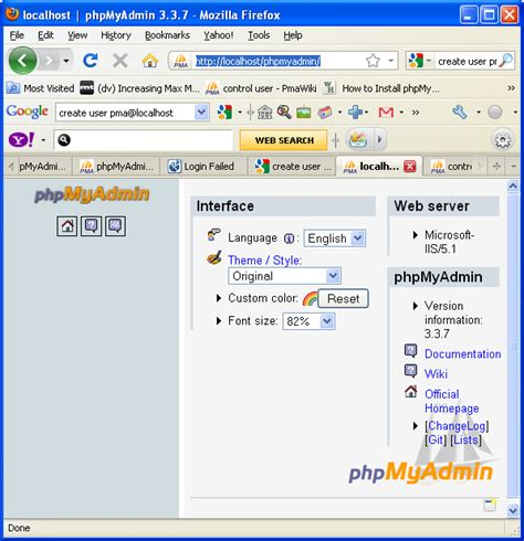configure xp localhost the how to configure php version 5 in order to run